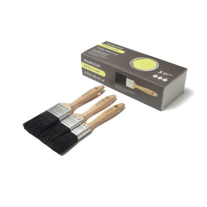 Picture of Hamilton Prestige Pure Mixed Bristle Box Set 3 Piece